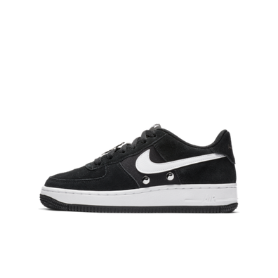 Nike Air Force 1 GS Black 'Have A Nike Day' productafbeelding