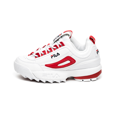 FILA Disruptor CB Low Wmn (White / Fila Red) productafbeelding