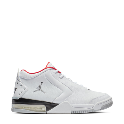 Jordan Big Fund White/ Metallic Silver-Black productafbeelding