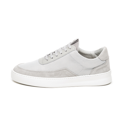 Filling Pieces Low Mondo Plain Nardo Mesh 2.0 (Light Grey) productafbeelding
