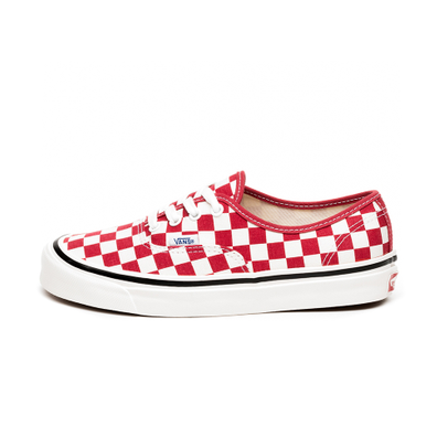 Vans Authentic 44 DX *Anaheim Factory* (OG Red / Check) productafbeelding