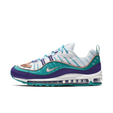 Nike Air Max 98 'Charlotte Hornets' productafbeelding
