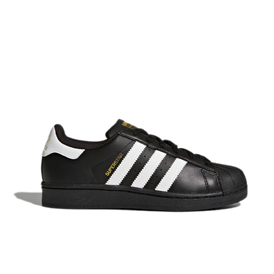 Adidas Superstar Black/White GS productafbeelding