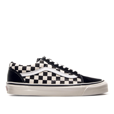 Vans Old Skool 36 DX Check Black White productafbeelding
