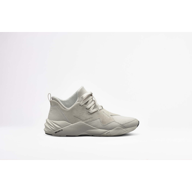 Arkk Brkton Suede W13 Triple Grey Cloud productafbeelding