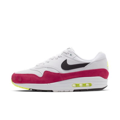 46963cae5f Nike Air Max 1 'White/Black/Volt/Rush Pink'