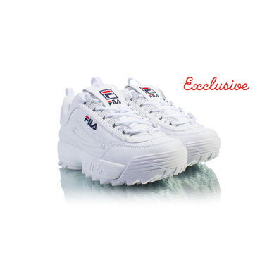 FILA Wmns Disruptor Low White 1010302 productafbeelding
