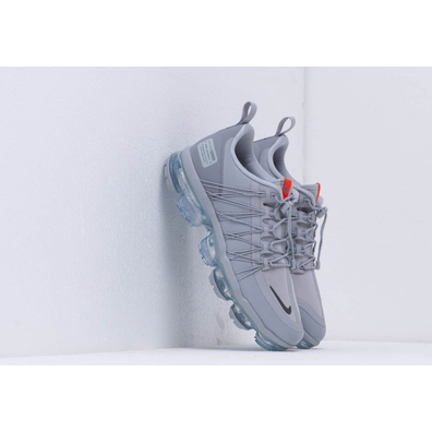 Nike Air Vapormax Run Utility Wolf Grey/ Cool Grey-Team Orange productafbeelding