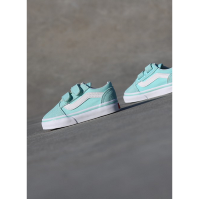 Vans Old skool Mint/White TS productafbeelding