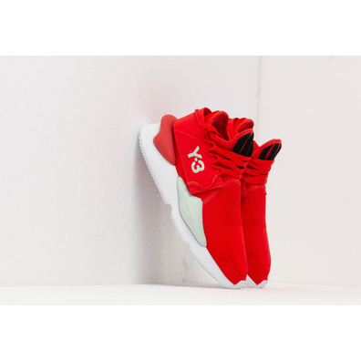Y-3 Kaiwa Knit Red/ Core Black/ Salty Green productafbeelding