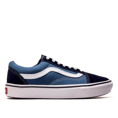 Vans ComfyCush Old Skool Navy White productafbeelding