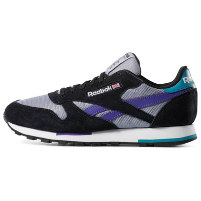 Reebok Classic Leather MU (Black / White / Cool Shadow) productafbeelding