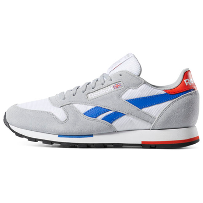 Reebok Classic Leather MU (White / Grey / Cobalt / Orange) productafbeelding