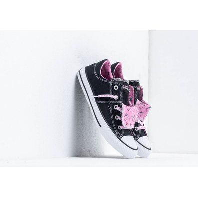 Converse x Hello Kitty Maddie Black/ Prism Pink/ White productafbeelding