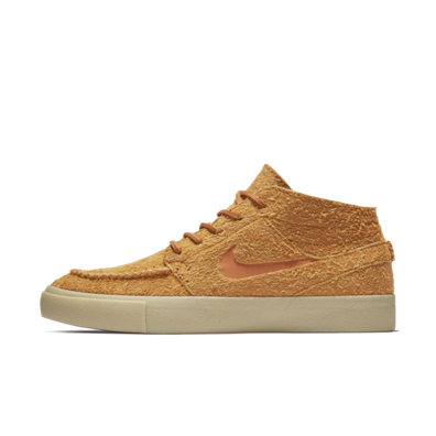 Nike SB Stefan Janoski Mid Crafted 'Cinder Orange' productafbeelding