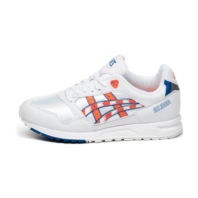 Asics Gel Saga (White / Flash Coral) productafbeelding