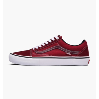 vans old skool heren rood