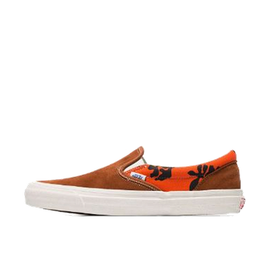 Vans x Modernica OG Classic Slip-On LX Leather Brown productafbeelding