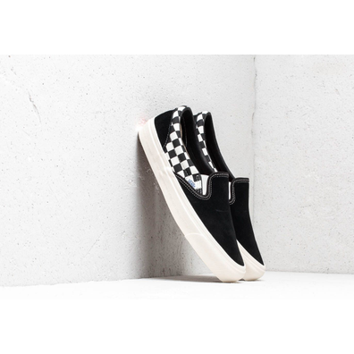 Vans x Modernica OG Classic Slip-On LX Black/ Checkerboard productafbeelding