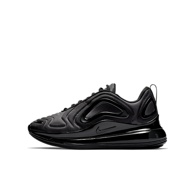 Nike Air Max 720 GS 'Triple Black productafbeelding