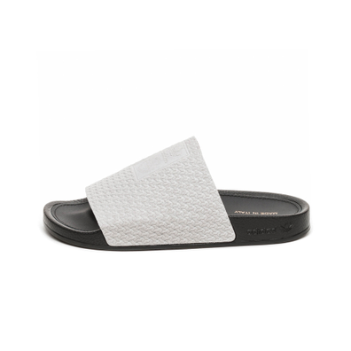 adidas Adilette Luxe W (Grey Two / Core Black / Gold Metallic) productafbeelding