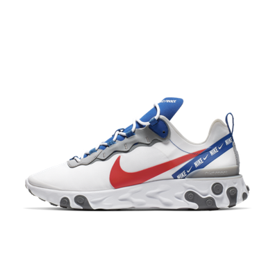 Nike React Element 55 Overbranded 'White'