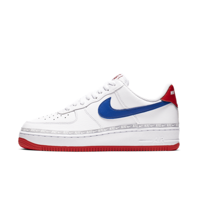 Nike Air Force 1 '07 LV8 Overbranded 'White' productafbeelding