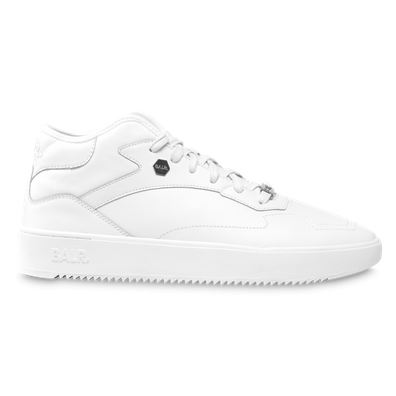 BALR. Leather Hexagon Sneakers White productafbeelding