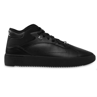 BALR. Leather Hexagon Sneakers Black productafbeelding