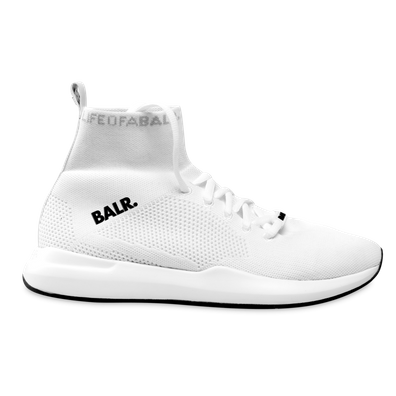 BALR. EE Premium Sock Sneakers V3 White productafbeelding