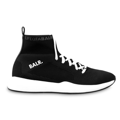 BALR. EE Premium Sock Sneakers V3 Black/White productafbeelding