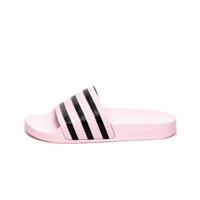 adidas Adilette W (Clear Pink / Clear Pink / Core Black) productafbeelding
