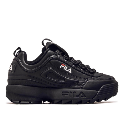 Fila Wmn Disruptor Low Black Black productafbeelding