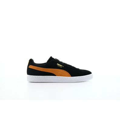 "Puma Suede Classic ""Black-Orange Pop"" productafbeelding"