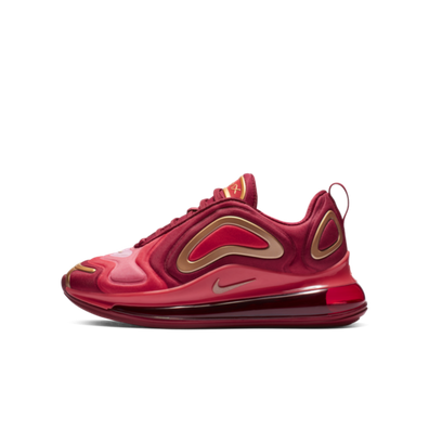 Nike Air Max 720 GS 'Crimson Gold' productafbeelding