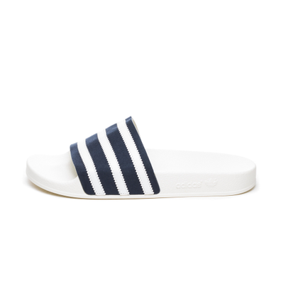 adidas Adilette (Collegiate Navy / Ftwr White / Off White) productafbeelding