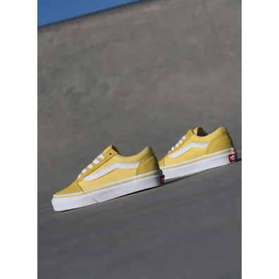Vans Old skool Yellow/White PS productafbeelding