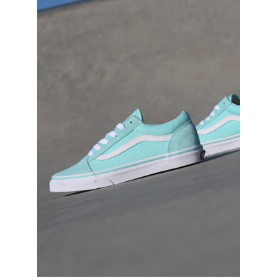 Vans Old skool Mint/White GS productafbeelding