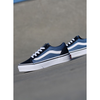 Vans Old skool O.G Navy/White PS productafbeelding