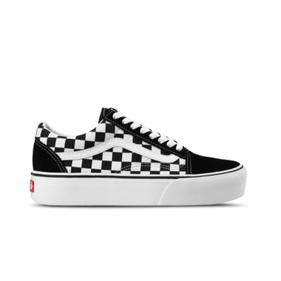 Vans Old Skool Platform (Checkerboard) productafbeelding