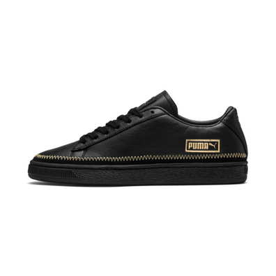 Puma Basket Trim Metallic Womens Sneakers productafbeelding