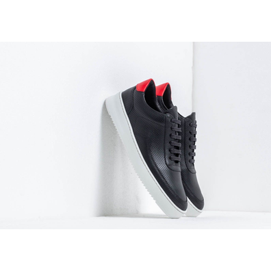 Filling Pieces Low Mondo Ripple Nardo Block Black productafbeelding