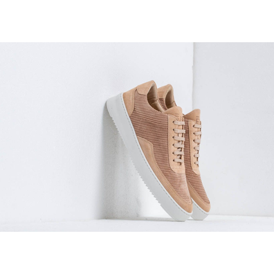 Filling Pieces Low Mondo Ripple Corduroy Beige productafbeelding