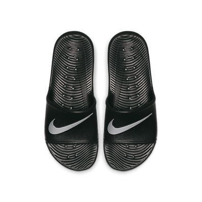 Nike Kawa Shower Black/ Metallic Silver productafbeelding