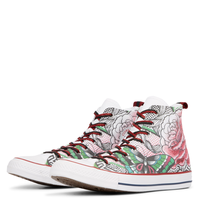 Chuck Taylor All Star Rose Tattoo High Top productafbeelding