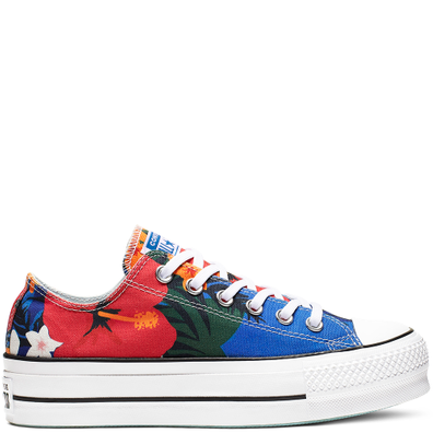 Chuck Taylor All Star Paradise Prints Lift Low Top productafbeelding