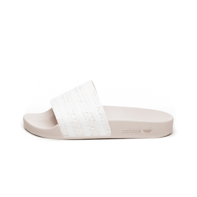 adidas Adilette W (Oracle Tint / Ftwr White / Oracle Tint) productafbeelding