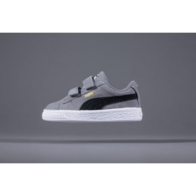 Puma Suede Classic Kids Grey productafbeelding