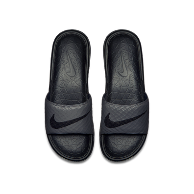 Nike Benassi Solarsoft Dark Grey/ Black productafbeelding