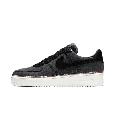 3x1 X Nike Air Force 1 '07 Premium 'Black Selvedge Denim' productafbeelding